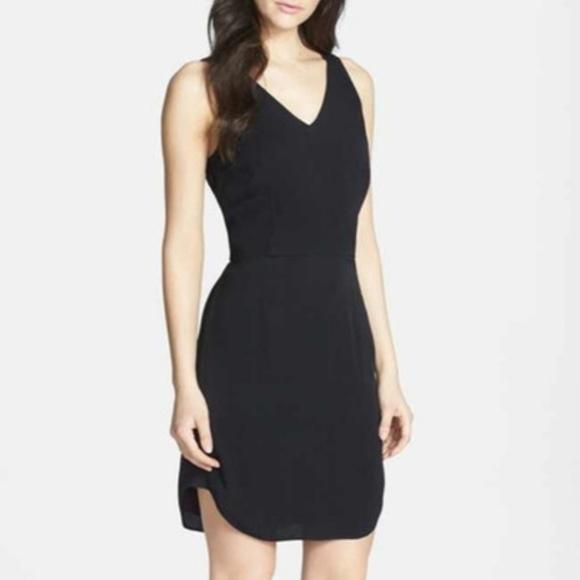 chelsea 28 Dresses & Skirts - NWT Chelsea 28 black knot tie back dress size XS